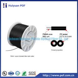 DC2 de duplex Plastic Optische Communicatie Kabel van de Vezel