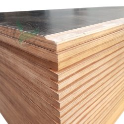 1220X2440X28mm Zwart Plywood Dry Container Reserveonderdelen