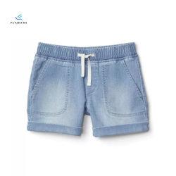 Venta caliente suave y cómodo denim shorts para las niñas por volar Jeans