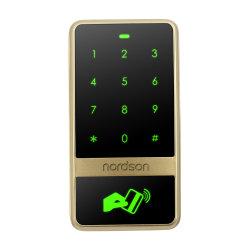 Carte de gestion de sortie Wiegand métal tactile lecteur RFID Contrôle d'accès (carte +Code)