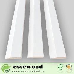 装飾のための平らな木製のドア枠の窓枠の設計