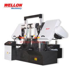 Horizontal automática completa de la sierra de banda CNC Machine (Máquina de aserrado de la banda de NC4228 SGA SGA4235)