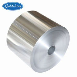 Alimentos de color aluminio Contenedor de materia prima