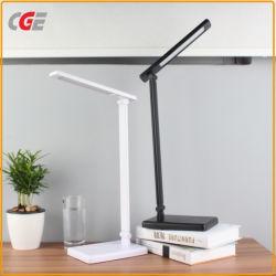 Lampe de bureau à LED à gradation LED moderne avec lampe de table sur la touche de lampe de bureau à LED Lampe de lecture livre lampe LED lampe de table de gros
