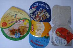 De Aluminiumfolie van Lidding voor het Gebruik van de Yoghurt