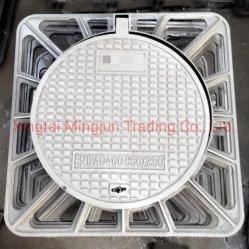 prix d'usine FR124 D400 plaque d'égout fonte ductile carré de la qualité
