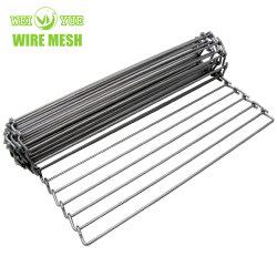 Rete metallica del nastro trasportatore dell'acciaio inossidabile di lunghezza 1-100m per la macchina dell'alimento