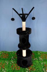 PET Cat Activity Tree Tower, Sisal-Rope-Beiträge zum Kratzen
