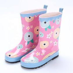 고품질 Rainboots 방수 미끄럼 방지 귀여운 소녀