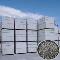짜개진 조각 타이란드에 있는 AAC 구획 생산 라인을%s 회색 알루미늄 분말 풀 구체적인 가스 거품이 이는 혼합