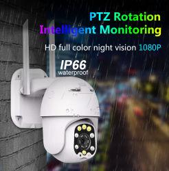 Câmara PTZ dome exterior WiFi Wireless Home Video vigilância CCTV