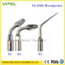 [إ1] [إ2] [إ3] أسنانيّة فوق سمعيّ [إندو] مقشرة طرف لأنّ [إمس] [ووودبكر], حامل