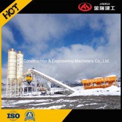 Portátil 1.5cbm Planta de mistura de lote de concreto como máquina de construção em lote de cimento Hzs90