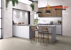 Brillant carrelage de sol en céramique émaillée de mur pour salle de bains et cuisine 300x600mm