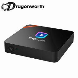 Gesetzter Spitzenkasten-UnterstützungsDts Stimme des Iphd-S900 IPTV Kasten Fernsehapparat-Kasten-2g 16g IPTV Media Player