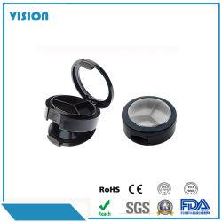 丸型のY028-1を包むプラスチックアイシャドウのパレットの箱のコンパクトボックス化粧品
