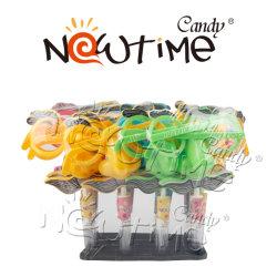 NTT17189皿の甘く多彩なフルーツの味のMustachのおもちゃキャンデー