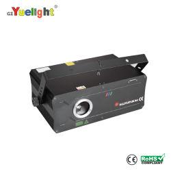Mini illuminazione per tavole laser DA 500 MW con luce laser ad animazione a colori Gobo mentale