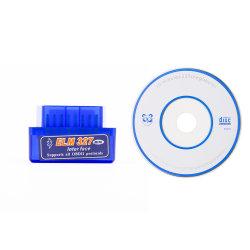 Strumento diagnostico automatico dello scanner dell'interfaccia dell'automobile OBD2 di Elm327 V2.1 Bluetooth