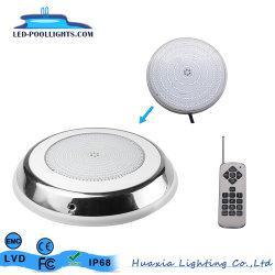 316 luce piscina a LED in acciaio inox con riempimento in resina subacquea Lampada per esterni