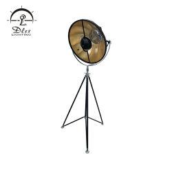 مصباح أرضي حامل ثلاثي القوائم قابل للضبط للاستديو الكلاسيكي
