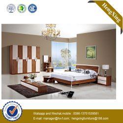 2019 Fashion MDF double Lit double chambre à coucher Mobilier de vie (UL-CH006)