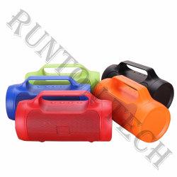 Caisson de basses sans fil OEM multicolore en plastique haut-parleur Bluetooth G10 avec port USB de la poignée de la radio FM TF carte