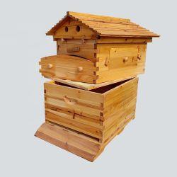 Nieuwe producten Fabrikanten Houten Honey House Langstroth Beehive Box Bee Korf