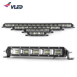 A luz de LED fino de Alta Potência Bar para caminhões, 4X4 Peças e Acessórios da barra de Linha Única