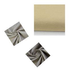 Tecido de moda de licra de poliéster Algodão Sarjado Duplo Estilo para a peça de vestuário de tecido têxtil