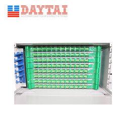 لوحة مهايئ FTTH 96 إطار توزيع الألياف الضوئية الأساسي ODF