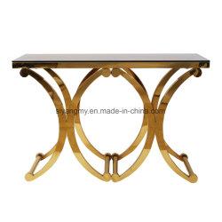 Espejos de vidrio veneciano muebles mesa de consola de mesa decorativos de cristal flotante