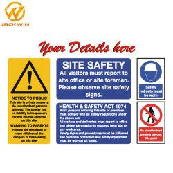 I segni riflettenti di sicurezza stradale del piatto di alluminio hanno personalizzato il segnale di pericolo