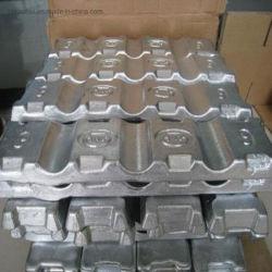 Lingotto di alluminio dei lingotti A7 della Cina per Al99.90, Al99.85, Al99.70A, Al99.70, Al99.60, prezzo di alluminio del lingotto di Al99 A380