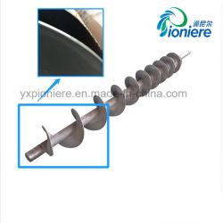 Welle der Schrauben-SS304 für Filterpresse-Schrauben-automatischen gestapelten Typen Klärschlamm-entwässernmaschine