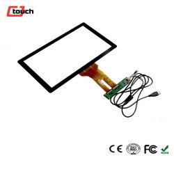 13,3 pouces Cjtouch OEM Ecran tactile capacitif USB de qualité de bord pour moniteur de bureau Dell