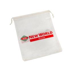 Sacchetto di Drawstring non tessuto riutilizzabile riciclabile della lavanderia di drogheria di Eco del regalo non tessuto amichevole di acquisto