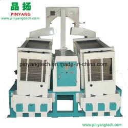Double corps décortiqueuse de riz paddy séparateur pour machine à l'usine