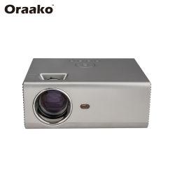 1080P поддерживает 4,3-дюймовый ЖК-видео 1920 X 1080 домашнего кинотеатра индивидуальный логотип номер мобильного Android мини-проектор для продажи
