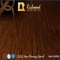 12.3mm Mano-Raschiato AC3 di bambù E1 ha laminato la pavimentazione di legno laminata