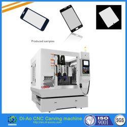 Automatic gravura CNC fresadora para a proteção de tela e o vidro temperado de injecção