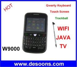 De Mobiele Telefoon van TV van Zoho W9000/9000 met WiFi, Java