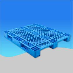 Lager-Transport-einzelnes seitliches Racking-Plastikladeplatte für Logistik