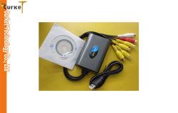DVR Easycap (EA-003) 붙잡음 비디오 카드 운전사 4 Channal
