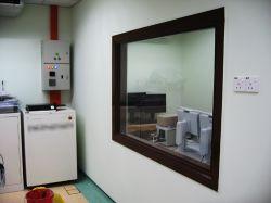 Proteção de vidro de chumbo Radia
