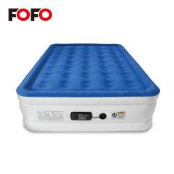 Muebles inflables camas de aire ajustable con bomba eléctrica incorporada
