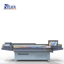طابعة مسطحة فوق البنفسجية مصنعين آلة الطباعة الرقمية أكريليك مع Dx5 رأس الطباعة