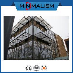 높은 안전 공간 유리제 외벽 디자인 해결책