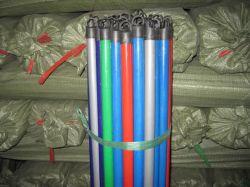 Balai en bois Stick avec de multiples en PVC de couleur