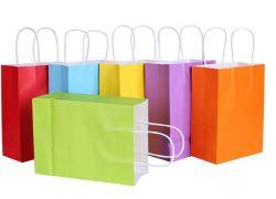 Sacs-cadeaux compostables pour l'emballage de magasinage à la mode